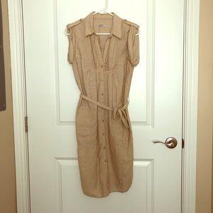Gap Midi Dress with Side Slits